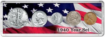 1940 Year Set Coin Gift Set THUMBNAIL
