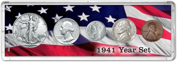 1941 Year Set Coin Gift Set LARGE