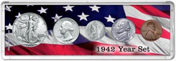1942 Year Set Coin Gift Set THUMBNAIL