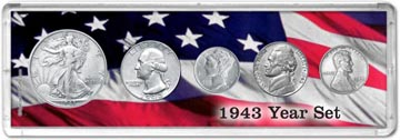 1943 Year Set Coin Gift Set THUMBNAIL