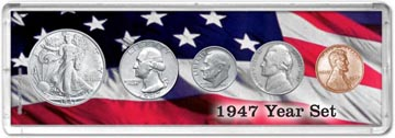 1947 Year Set Coin Gift Set THUMBNAIL