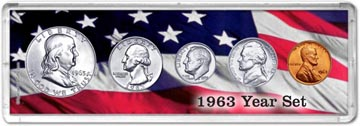 1963 Year Set Coin Gift Set THUMBNAIL