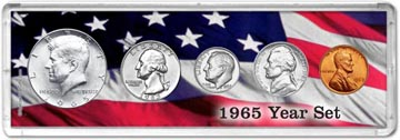 1965 Year Set Coin Gift Set THUMBNAIL