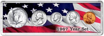 1967 Year Set Coin Gift Set THUMBNAIL