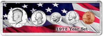 1972 Year Set Coin Gift Set THUMBNAIL