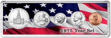 1975 Year Set Coin Gift Set THUMBNAIL
