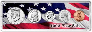 1993 Year Set Coin Gift Set THUMBNAIL