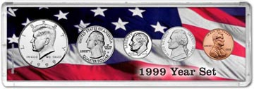 1999 Year Set Coin Gift Set THUMBNAIL