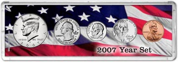 2007 Year Set Coin Gift Set THUMBNAIL