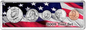 2009 Year Set Coin Gift Set THUMBNAIL