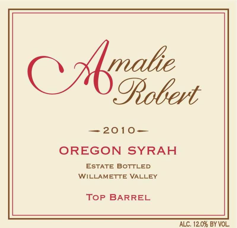 2010 Top Barrel Syrah