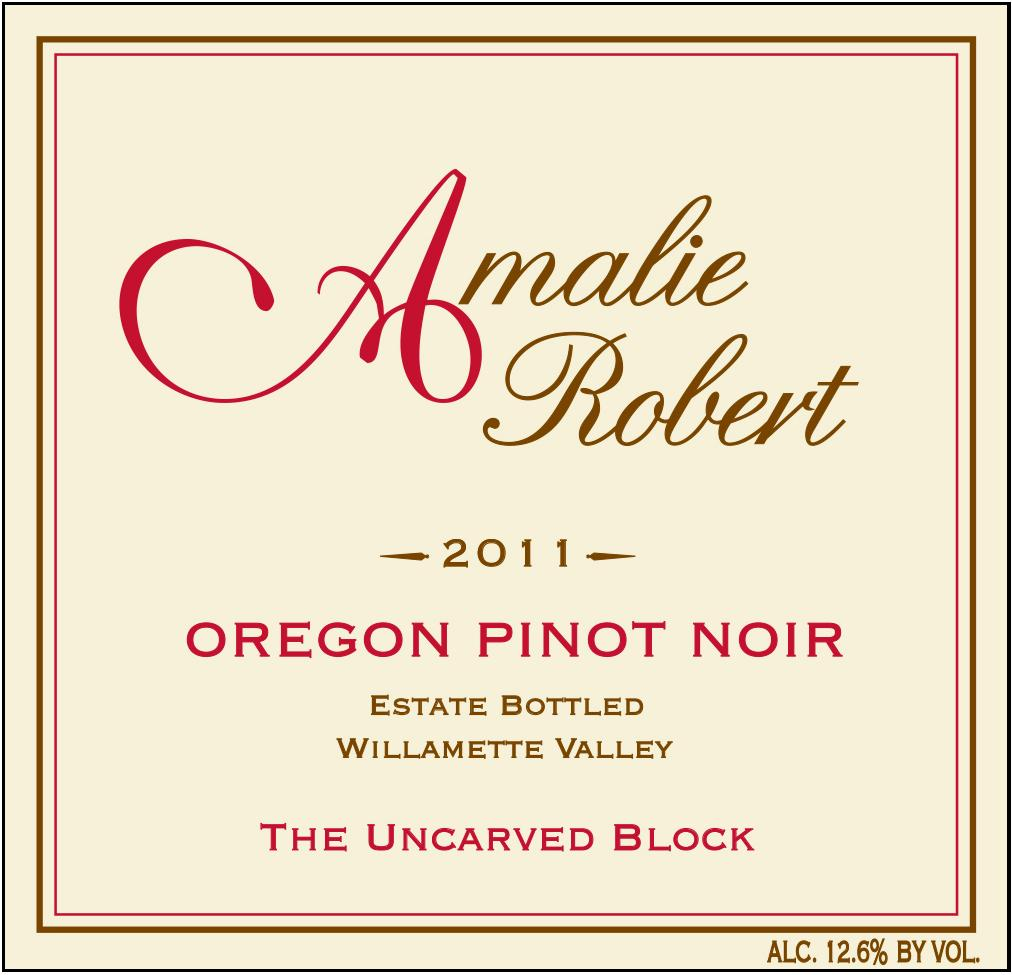 2011 The Uncarved Block Pinot Noir