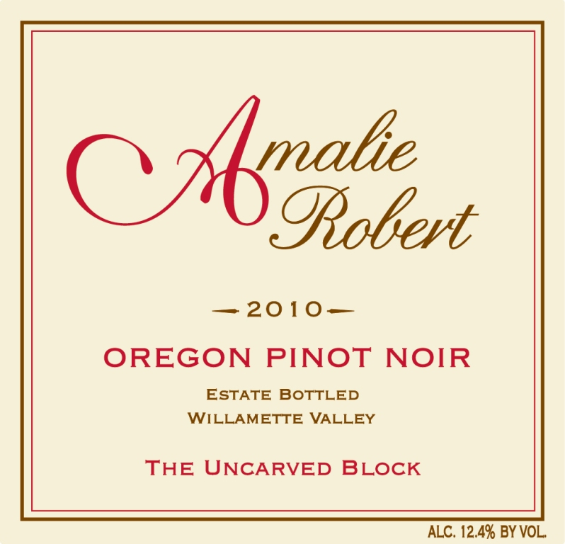 2010 The Uncarved Block Pinot Noir
