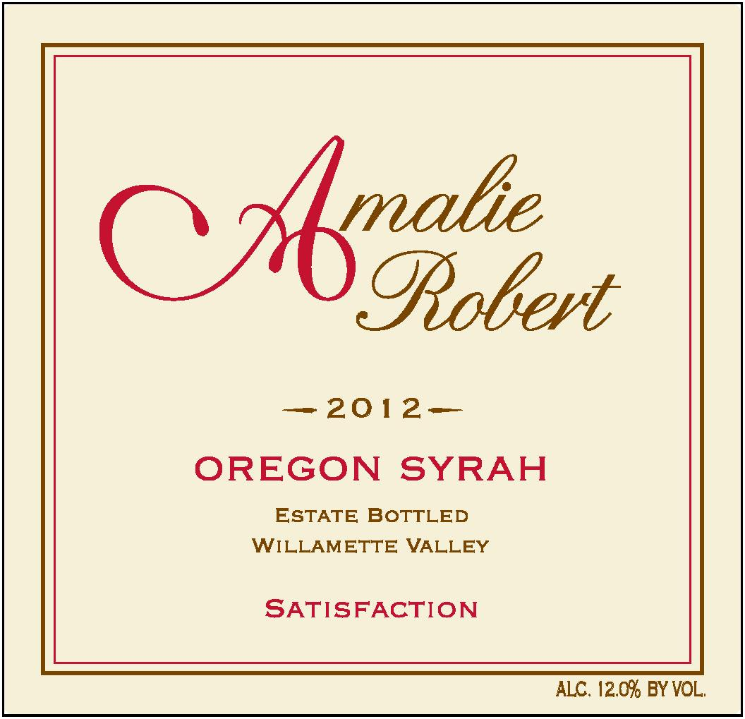 2012 Satisfaction Syrah