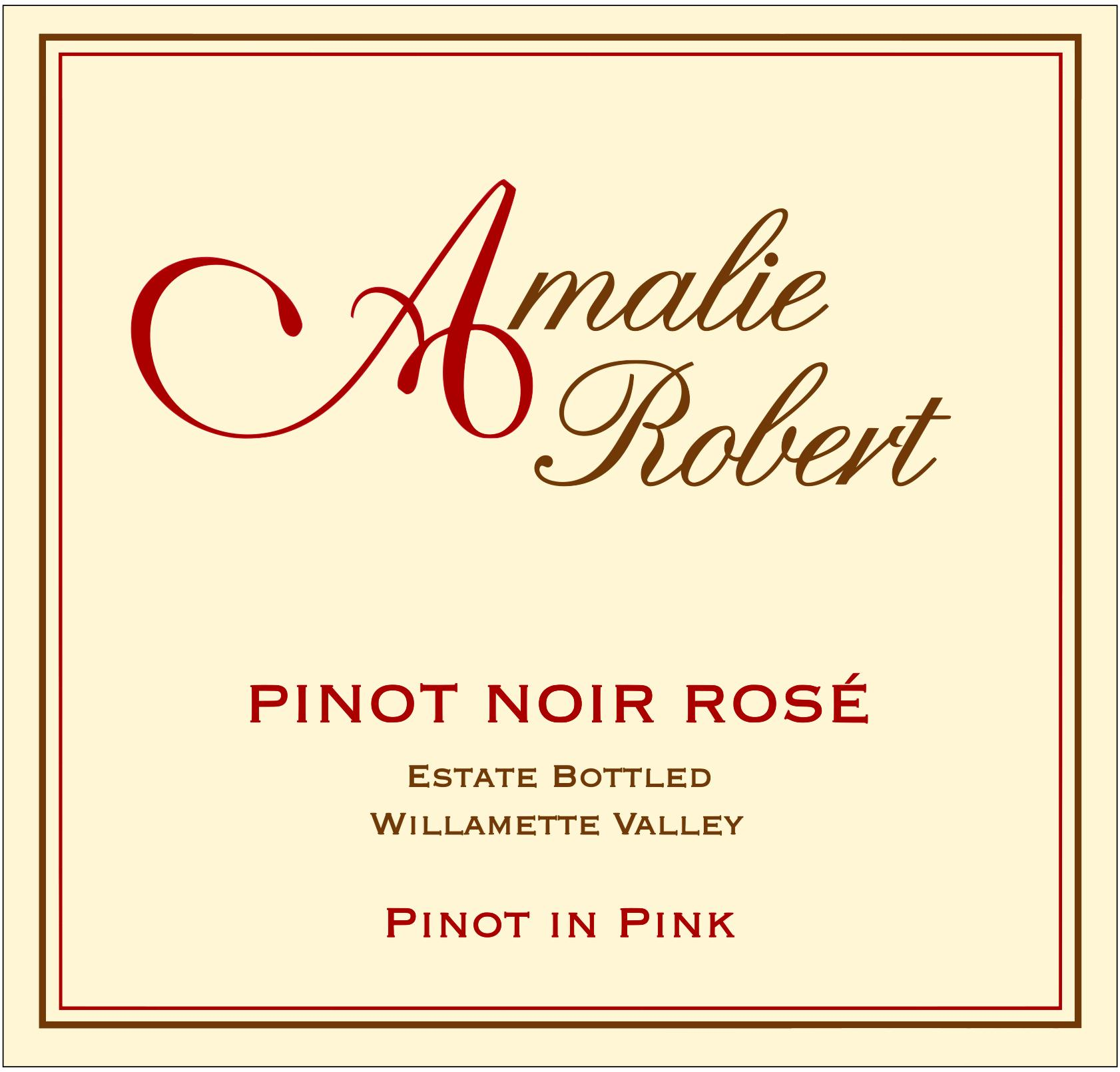 2017 Pinot in Pink - Pinot Noir Rose