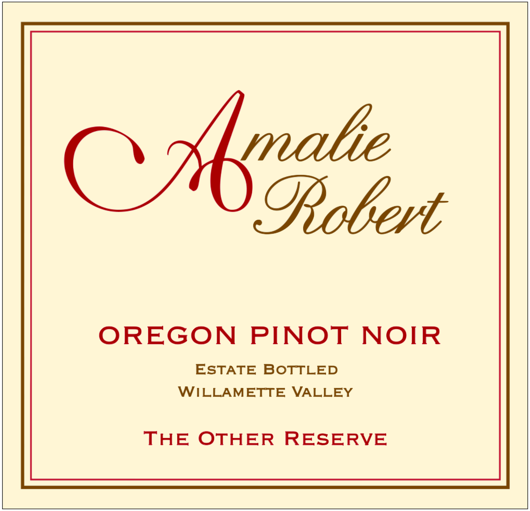 2012 The Other Reserve Pinot Noir