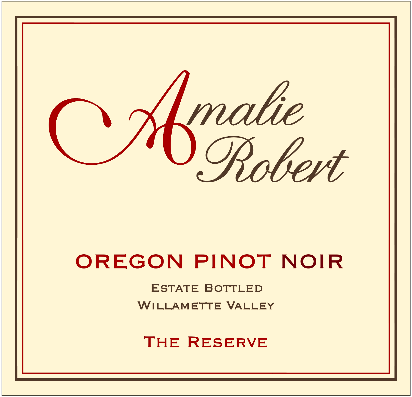 2012 The Reserve Pinot Noir