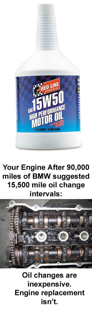 Red Line High Performance Engine Oil