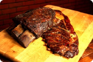 Edgar Black's Ribs Sampler