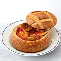 New!! Cioppino Bread Bowl Soup Gift #255