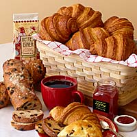 San Francisco Holiday Brunch Basket #524