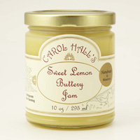 New!! Mendocino Carol Hall's Sweet Lemon Buttery Jam #A60616