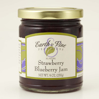 Strawberry Blue Berry Jam-Earth & Vine #A61099