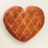 1 lb Heart Bread (2) #730