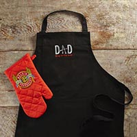 "New!! ""Dad-King of the Grill"" Apron #A52083"