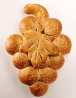 San Francisco Sourdough Grape Cluster Bread (2) #755