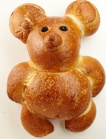 Sourdough Bread Teddy Bear #767 (2)