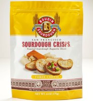 San Francisco Sourdough Crisps-Three Cheese 6 oz #A61523