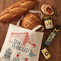 New!! San Francisco Farmer's Market Tote #335