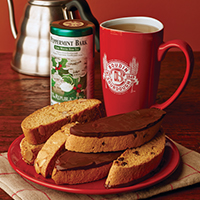 New! Boudin Biscotti & Holiday Tea Gift. #528
