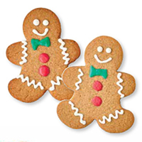 NEW! Gingerbread Cookies #581 (Half dozen)