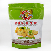 New!! Sourdough Jalapeno Cheddar 6 OZ (1) #A61820