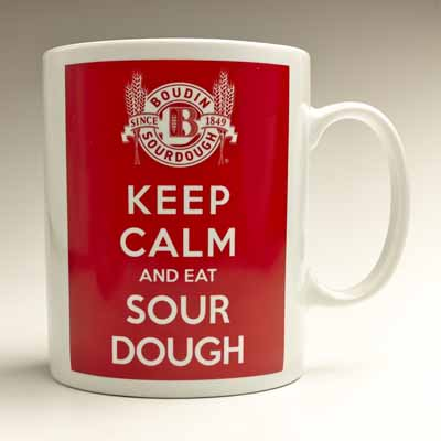New!! Mug-Keep Calm Boudin Logo #A52672