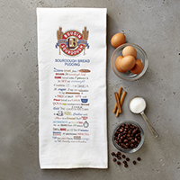 New!! Sourdough Bread Pudding Recipe Towel (1) #A52809