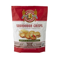 New! San Francisco Sourdough Crisps-Garlic & Asiago #A07017