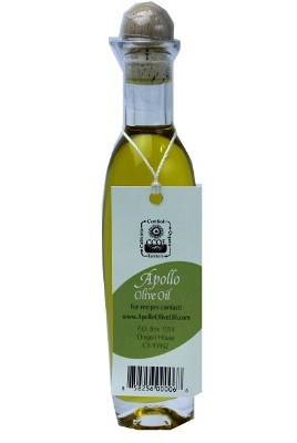 New!! Apollo Organic California Extra Virgin Olive Oil. #A60762