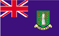 <big>British Virgin Islands Flag (Blue)</font></big>