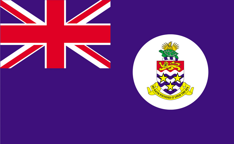 <big>Cayman Islands Flag (Blue)</font></big>