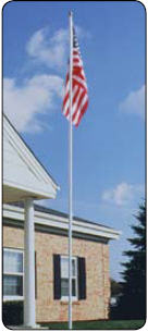 <big>Colonial Flagpoles 12' - 22'</font></big>