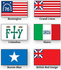 <b>-  Historical Flags</b>