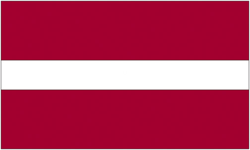 <big>Latvia Flag</font></big>