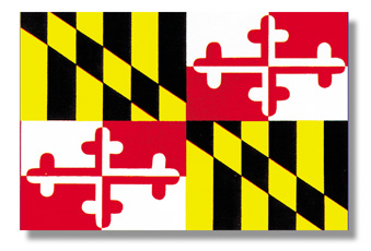 <big>Maryland State Flag</font></big>