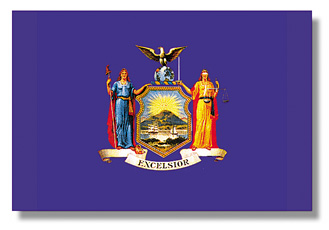 <big>New York State Flag</font></big>