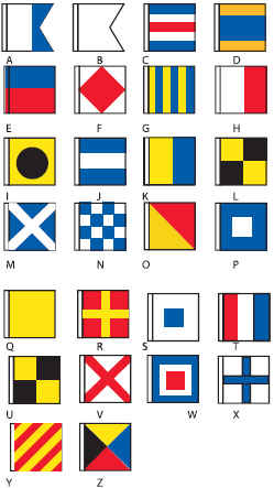<b>-  Nautical Flags</b>