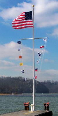 <b>-  Nautical Flagpoles</b>