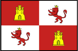 <big>Royal Standard of Spain  Flag</font></big>